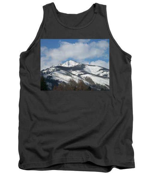 Tank Top featuring the photograph Mountain Peak by Jewel Hengen