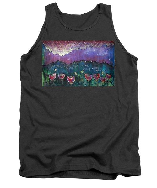 Mountain Poppies Tank Top