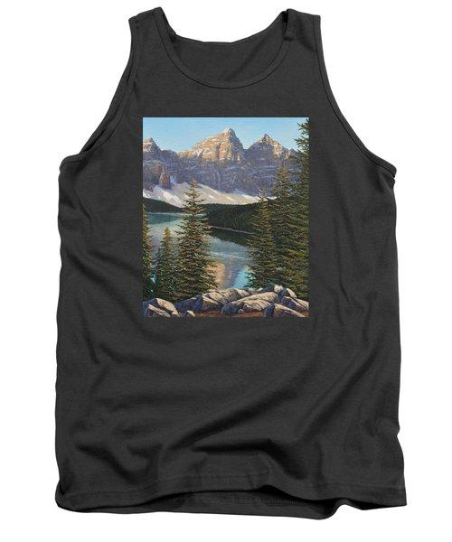 Mountain Sunrise Tank Top