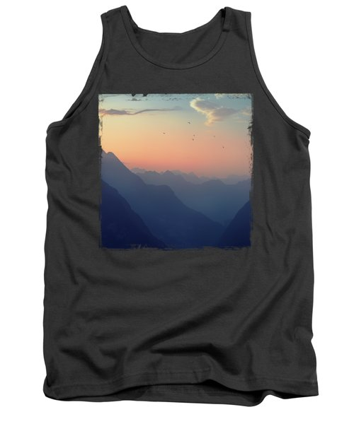 Mountain Sunrise - Pastel Alps Tank Top