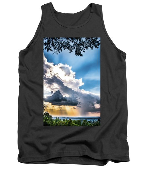 Tank Top featuring the photograph Mountain Sunset Sightings by Shelby Young