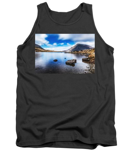 Tank Top featuring the photograph Mountain View by Nick Bywater