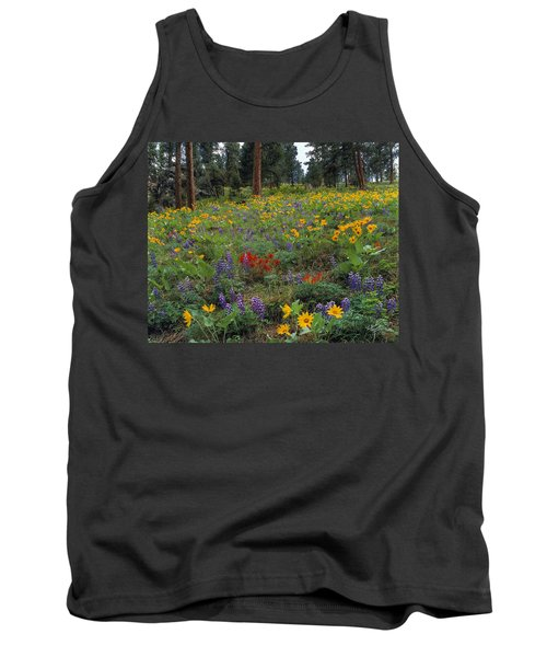 Mountain Wildflowers Tank Top