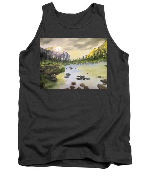 Mountains And Stream Tank Top