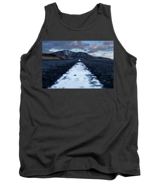 Mountains In Iceland Tank Top