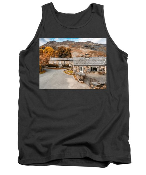 Tank Top featuring the photograph Mountains In The Back Yard by Nick Bywater