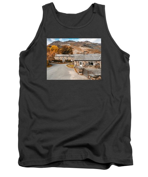 Mountains In The Back Yard Tank Top