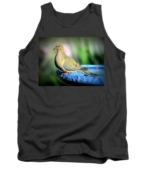 Mourning Dove Perched Tank Top