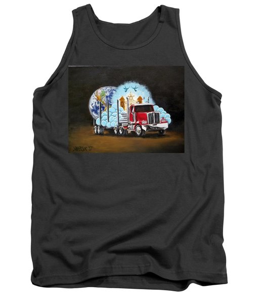 Moving Heaven And Earth  Tank Top