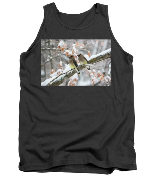 Mr. And Mrs. Cedar Wax Wing Tank Top