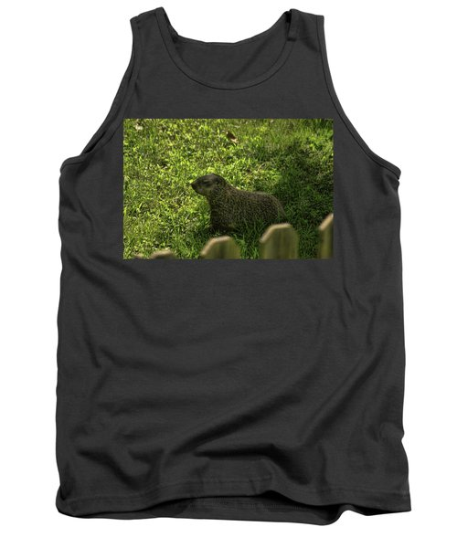 Mr Woodchuck Tank Top