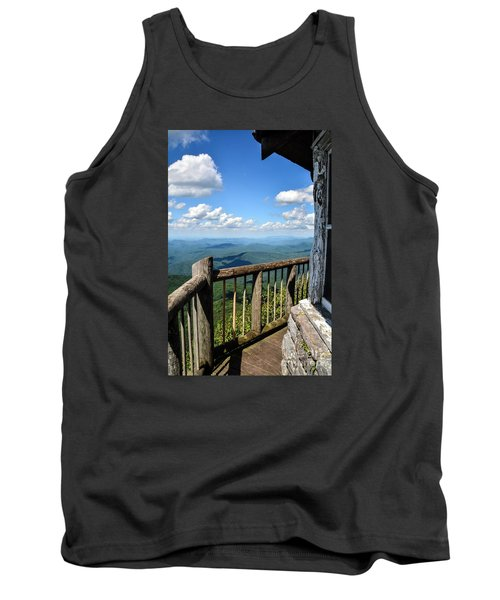 Mt. Cammerer Tank Top by Debbie Green