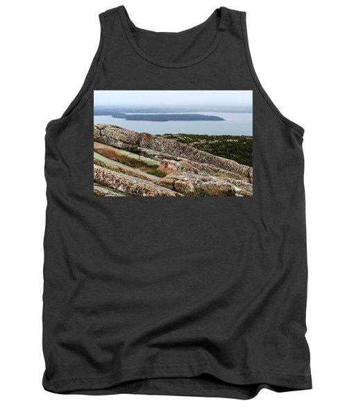 Mt. Destert Island View Tank Top