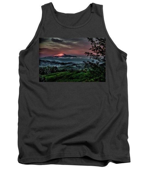 Mt. Etna I Tank Top