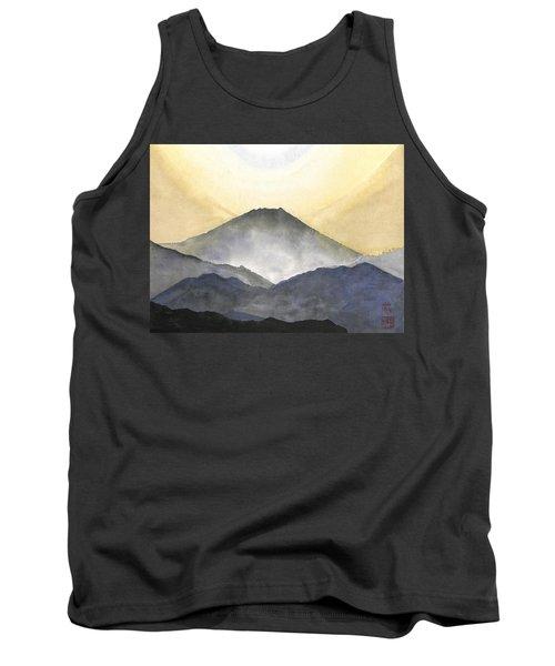 Mt. Fuji At Sunrise Tank Top