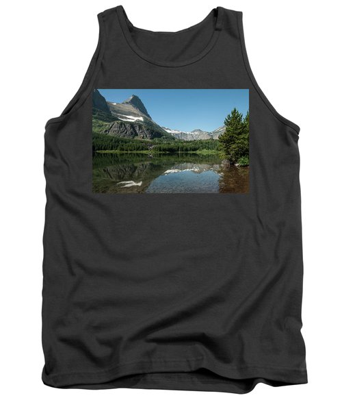 Mt. Grinnell Across Red Rock Lake Glacier National Park Tank Top