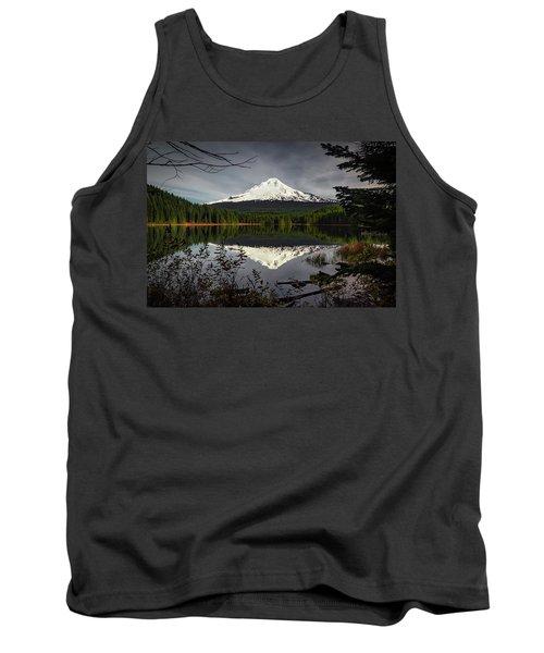 Mt Hood Reflection Tank Top