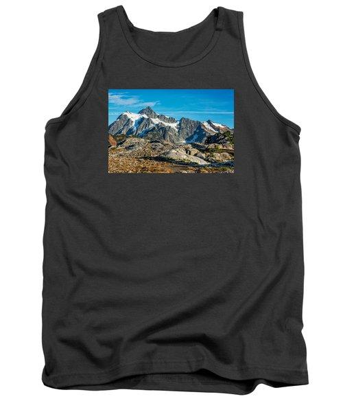 Mt. Shuksan, Washington Tank Top by Sabine Edrissi