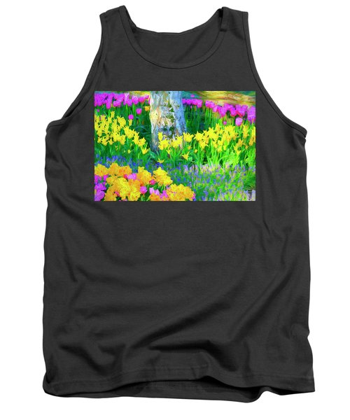 Mt Vernon Tulip Garden 1 Tank Top