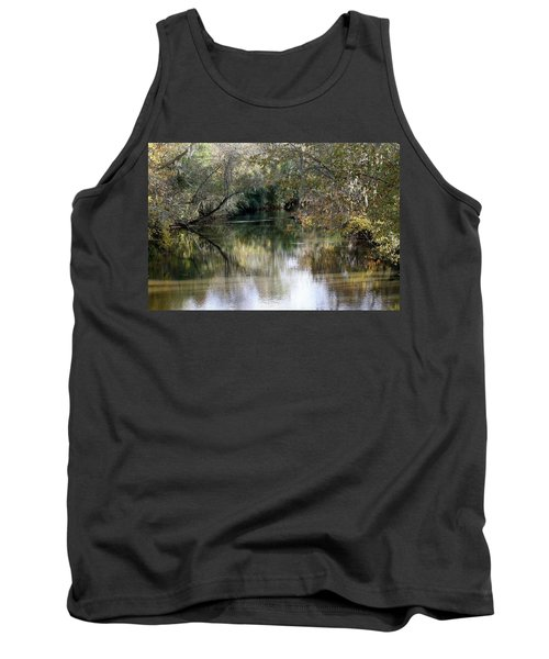 Tank Top featuring the photograph Muckalee Creek by Jerry Battle