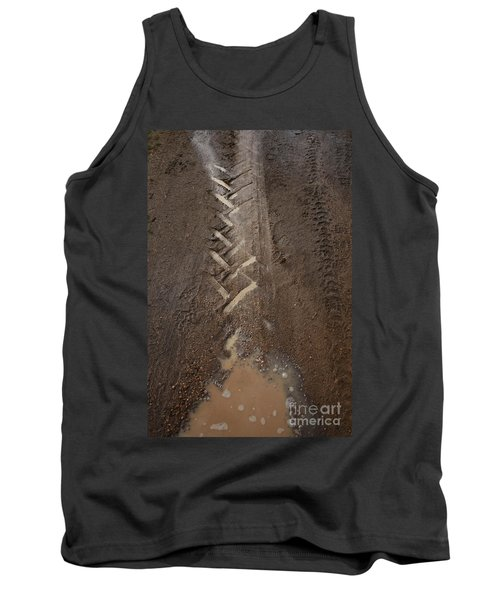 Tank Top featuring the photograph Mud Escape by Stephen Mitchell
