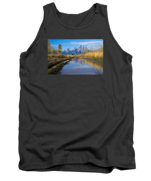Mud Puddle Reflection Tank Top
