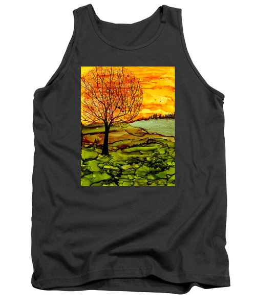 Muddy Fall Tank Top