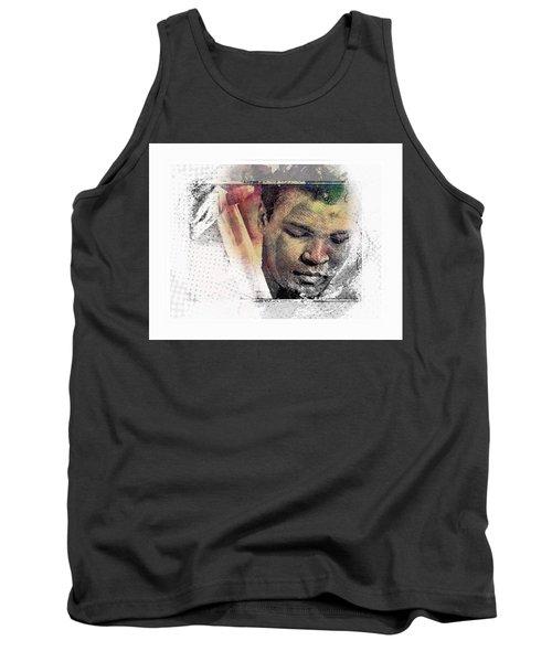 Tank Top featuring the photograph Muhammad Ali by Allen Beilschmidt