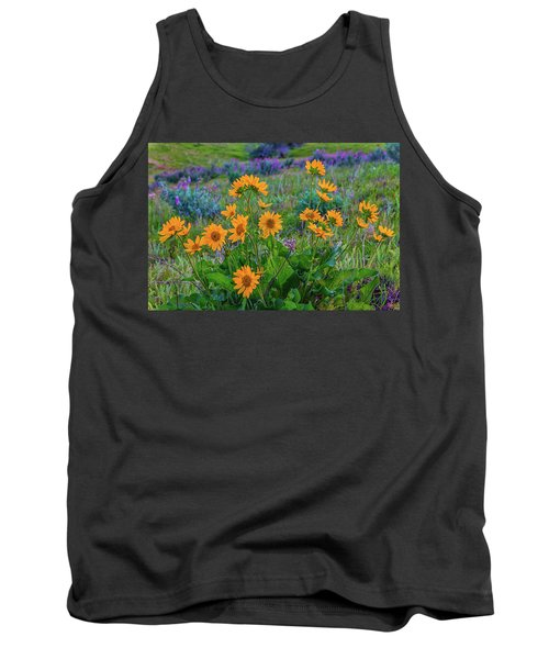 Mule's Ear And Lupine Tank Top
