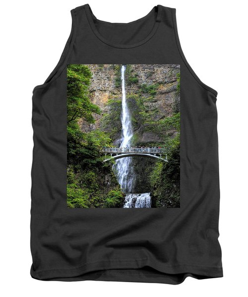 Multnomah Falls, Columbia River Gorge Tank Top