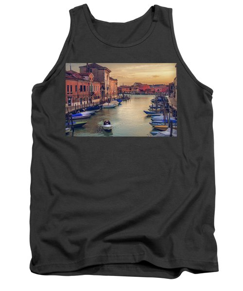 Murano Late Afternoon Tank Top by Brian Tarr