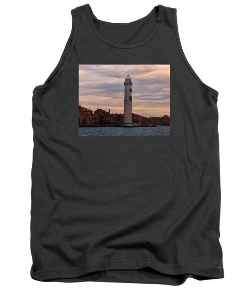 Tank Top featuring the photograph Murano Lighthouse by Laura Ragland