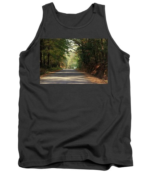 Tank Top featuring the photograph Murphy Mill Road by Jerry Battle