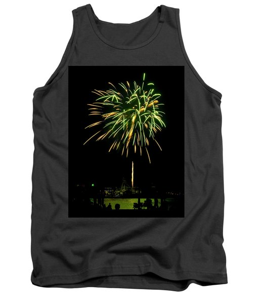 Murrells Inlet Fireworks Tank Top by Bill Barber