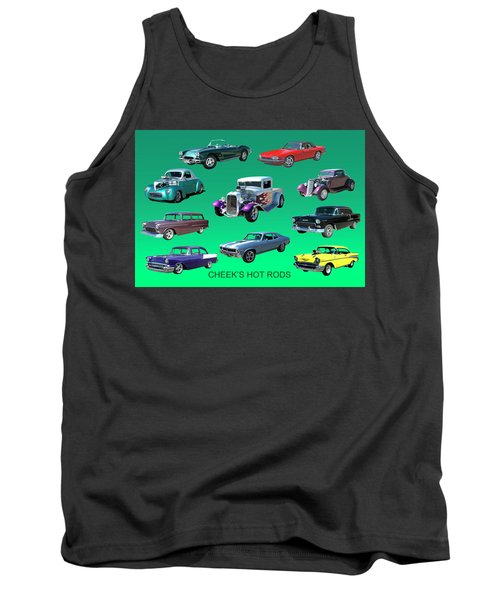 Muscle Times 9 Tank Top by Jack Pumphrey