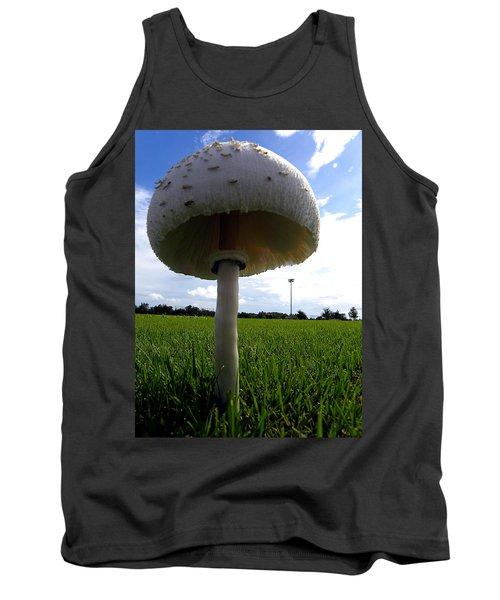 Mushroom 005 Tank Top by Chris Mercer