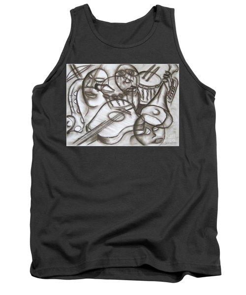 Music Dreams And Illusions Tank Top