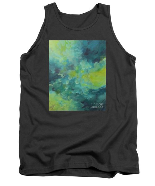 Tank Top featuring the painting Musing 117 by Elis Cooke