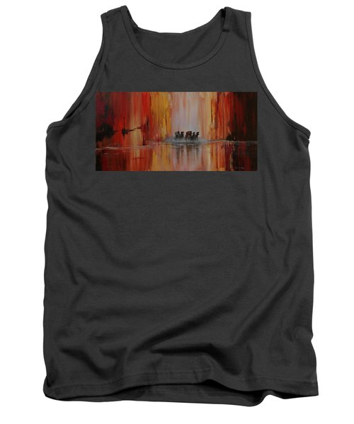 Mustang Canyon Tank Top by Karen Kennedy Chatham