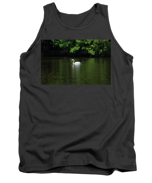 Tank Top featuring the photograph Mute Swan by Sandy Keeton