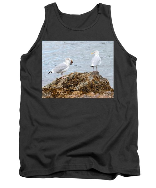 Tank Top featuring the photograph My Crab Go Away by Debbie Stahre
