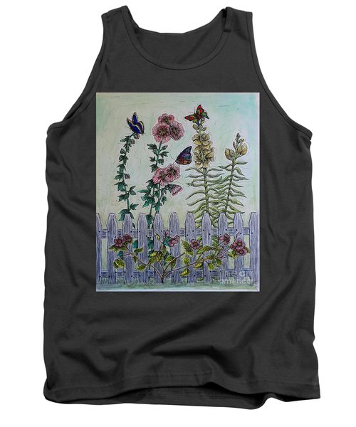My Garden Tank Top by Kim Jones
