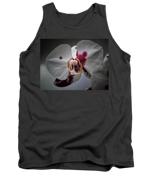 My Growling Dragon Orchid. Tank Top by Karen Stahlros