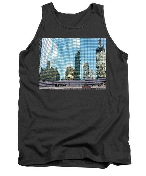 Tank Top featuring the photograph My Kind Of Town by Sandy Molinaro