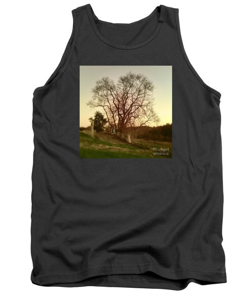 Tank Top featuring the photograph My Tree Has A Soul  by Delona Seserman
