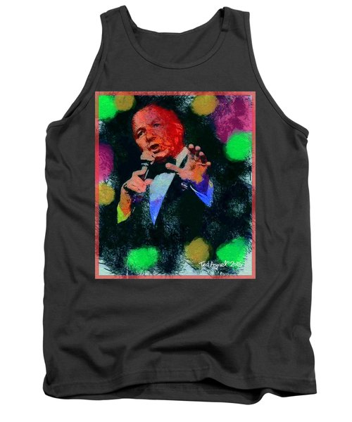 Tank Top featuring the painting My Way by Ted Azriel