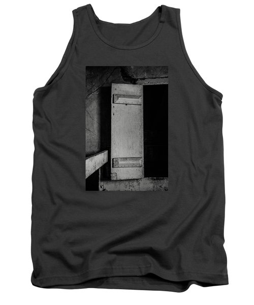 Mysterious Attic Door  Tank Top by Off The Beaten Path Photography - Andrew Alexander
