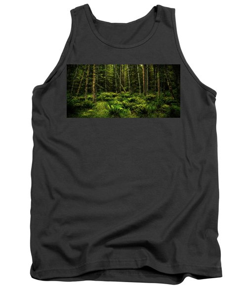 Mysterious Forest Tank Top