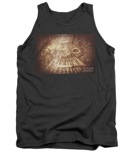 Mysterious Vintage Masquerade Tank Top