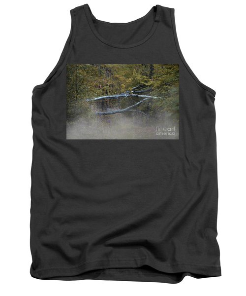 Tank Top featuring the photograph Mystery In The Fall by Skip Willits